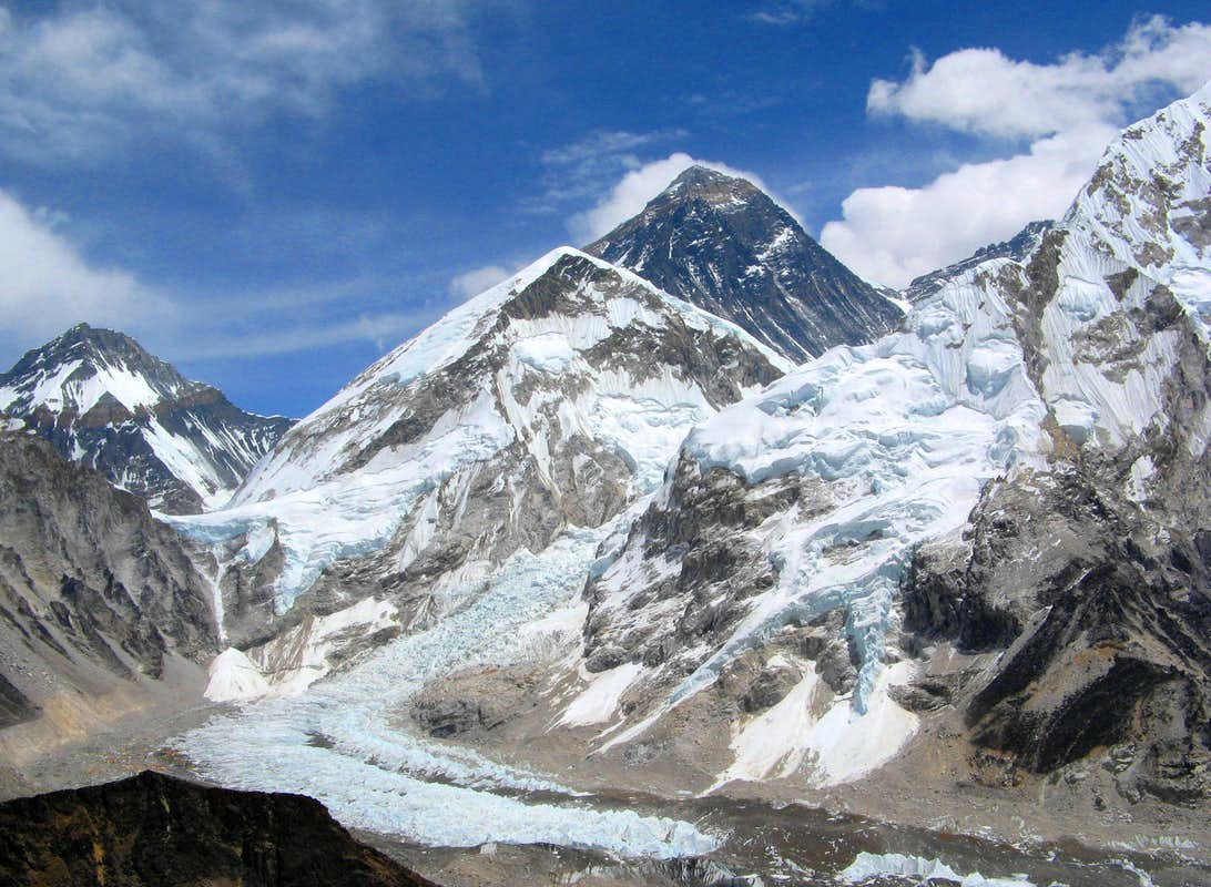 Mt EverestMount Everest From The Bottom