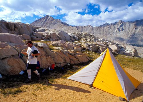 Mt Julius Caesar camp