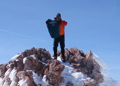 Mt. Shasta Summit Apr 25, 2010