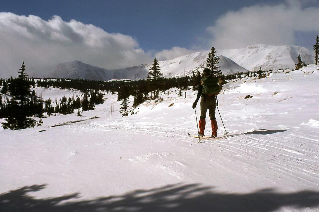 Skiing the Snowy Range