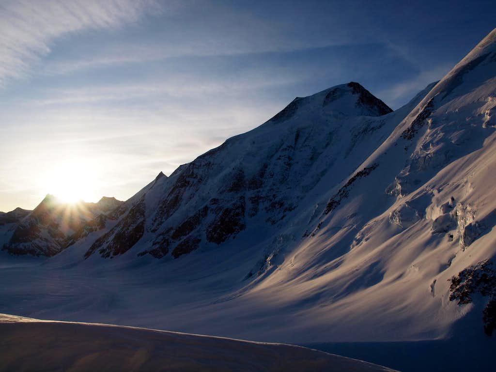 Aletschhorn northside