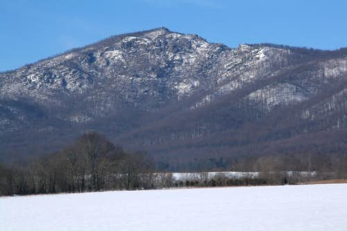 The Eastern Face of Old Rag