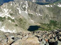 Upper Coney Lake from Mt...
