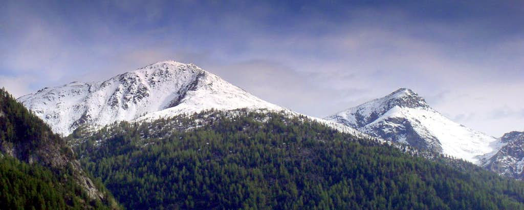 Some Aosta peaks