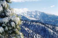 Mt Baldy from Blue Ridge.