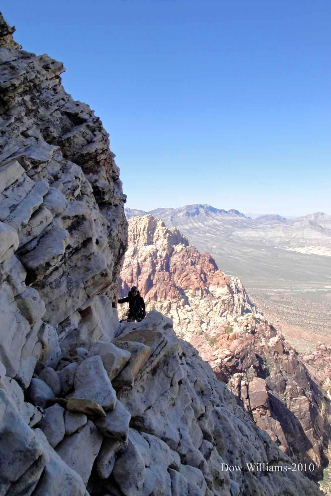 Paiute Pillar, 5.9R, 10 Pitches