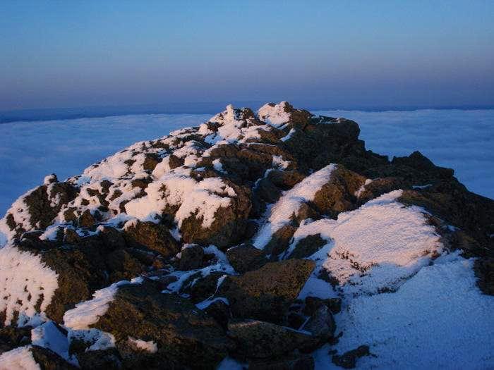 Mt Madison summit