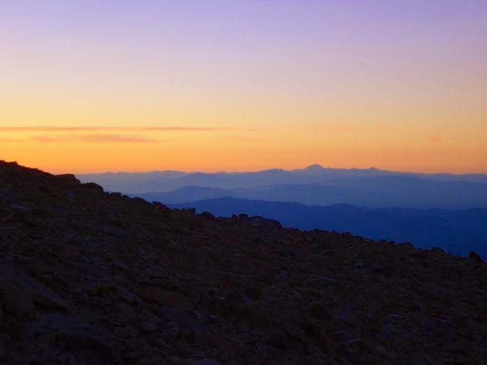 sunrise over Cali