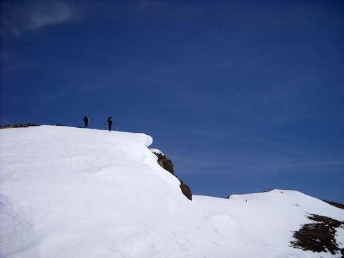 Near Mt. Delano Summit