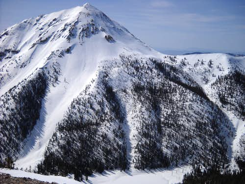 NE Face of Mt. Baldy