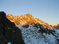 Sunrise on Negoiu peack ( Fagaras )