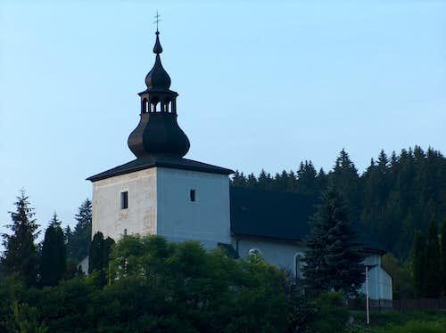 Church in the Mala Fatra region