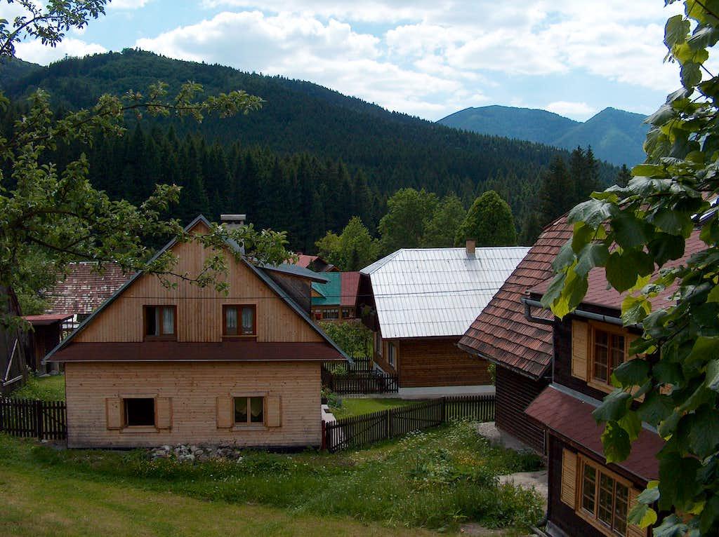 Houses in Štefanová