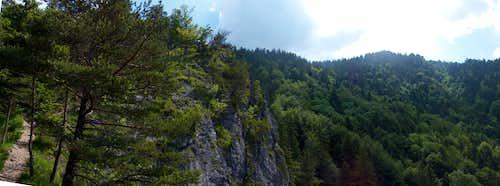 Trail on Boboty