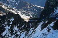 Caltun lake seen fron neerby Strunga Doamnei