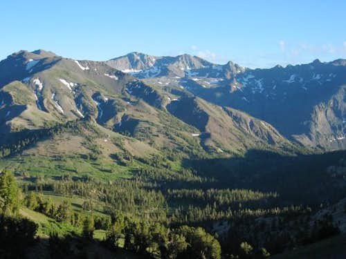Leavitt Peak, as seen from...