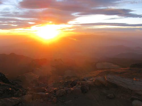 Sunset on Izta