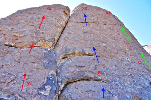 Select routes of Hoodgie Wall