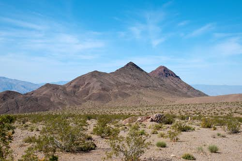 Death Valley Buttes