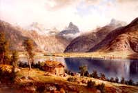 Painting of Romsdalshorn