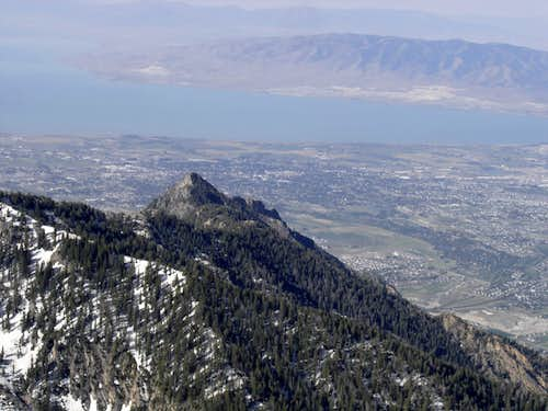 From Box Elder Peak