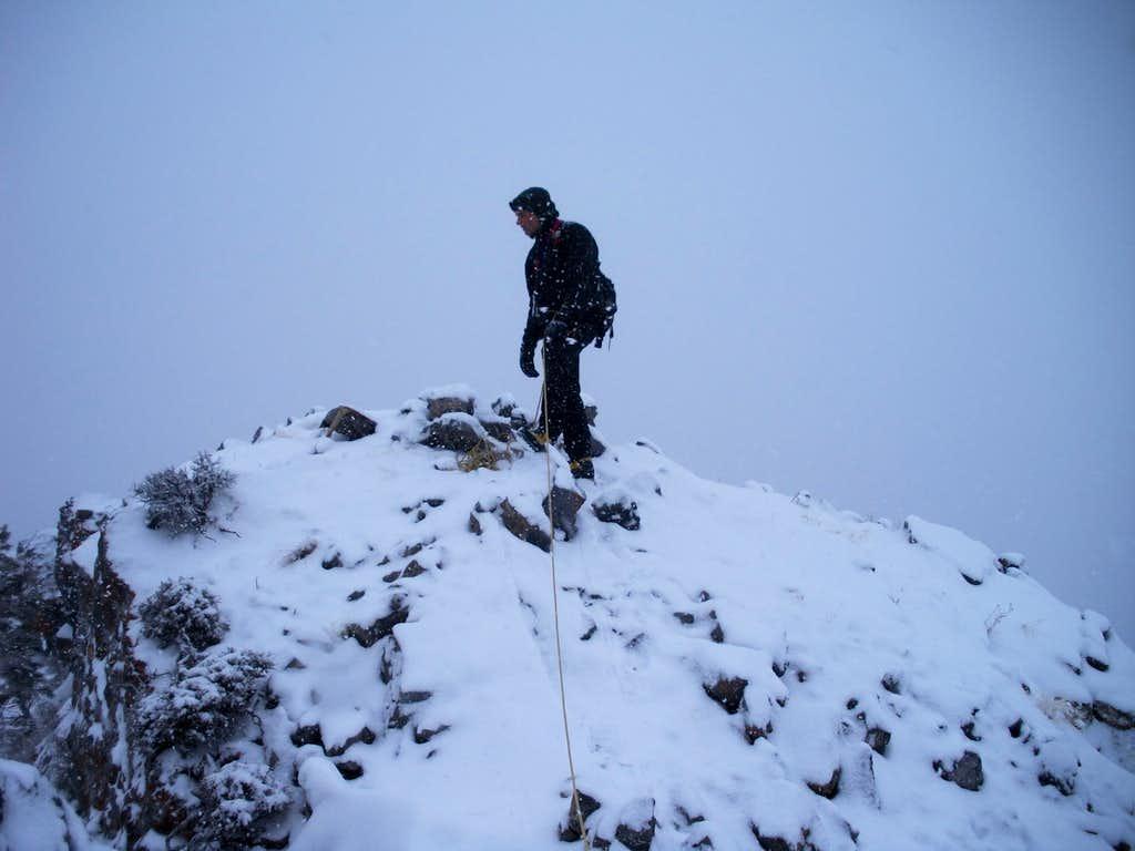 Willow Canyon Peak Summit