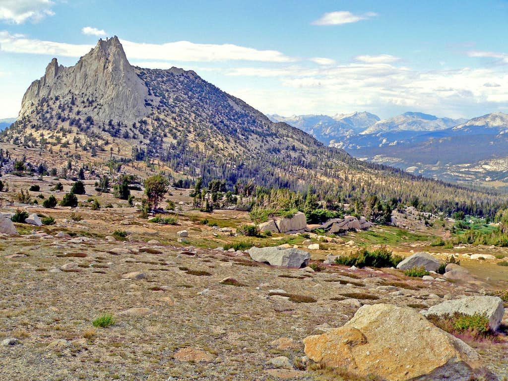 Cathedral Peak from the southeast