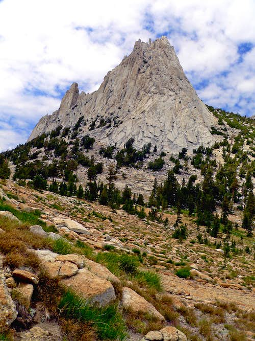 Cathedral Peak from the east