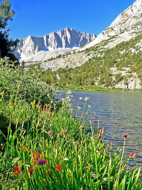 Mount Goode from Long Lake