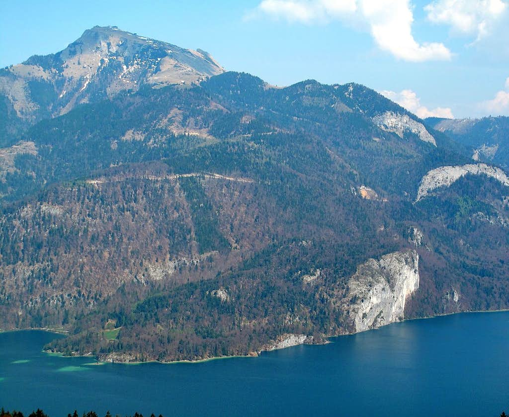 Wolfgangsee and Schafberg (1782m)