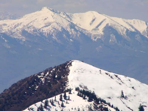 Grandeur Peak & Oquirrh's from Mt. Aire Summit