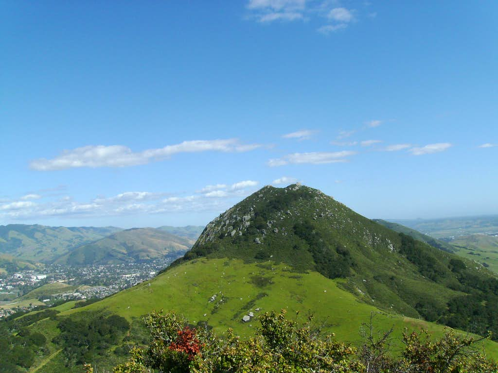 Bishop Peak From Chumash Peak