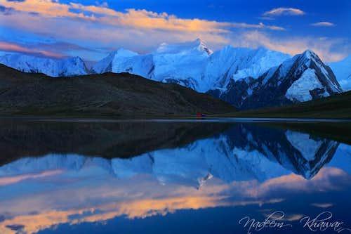 An evening at Rush Lake