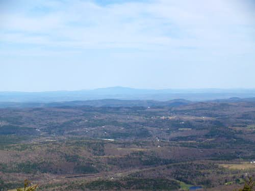 view east from Haystack