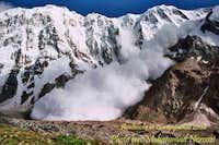 Avalanche in nanga parbat 8126m