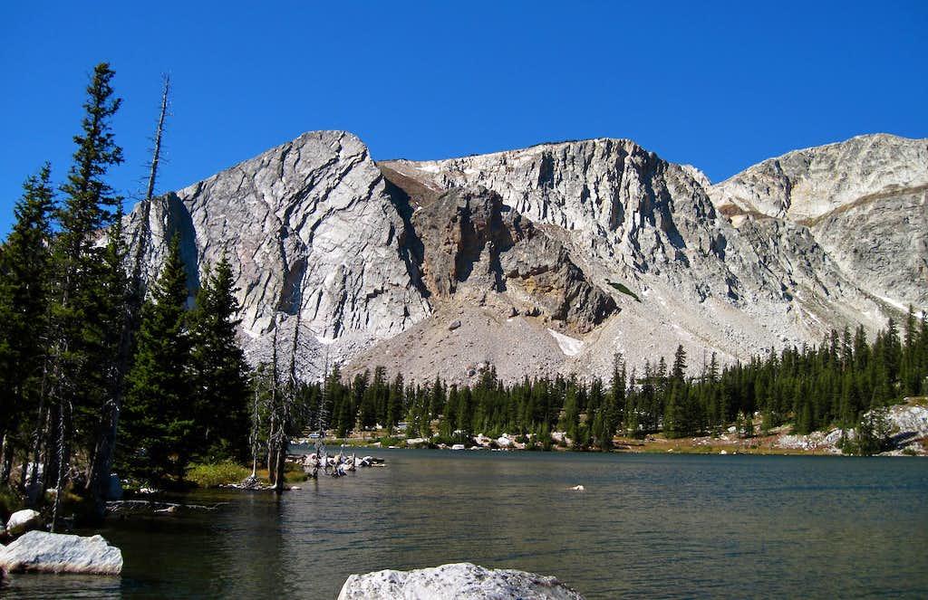 Medicine Bow Peak Ridgeline