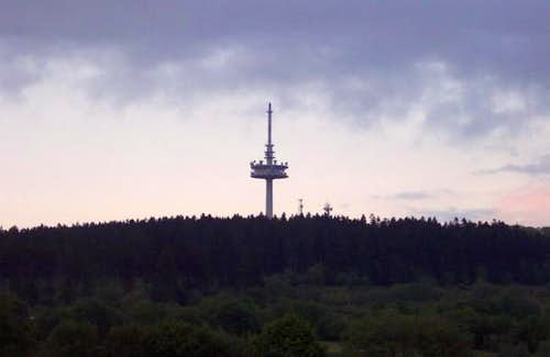 Tower on the summit of...