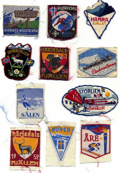 Patches from the fifties