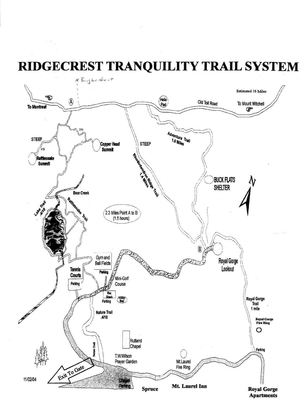 Rattlesnake Mountain Trail System