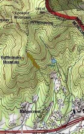 Rattlesnake Mountain Location