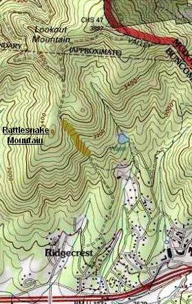 Rattlesnake Mountain Location
