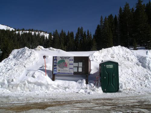 Wolf Creek Pass trailhead