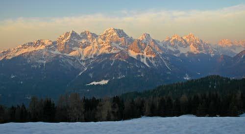 Dolomiti Pesarine (Terze-Siera Group)