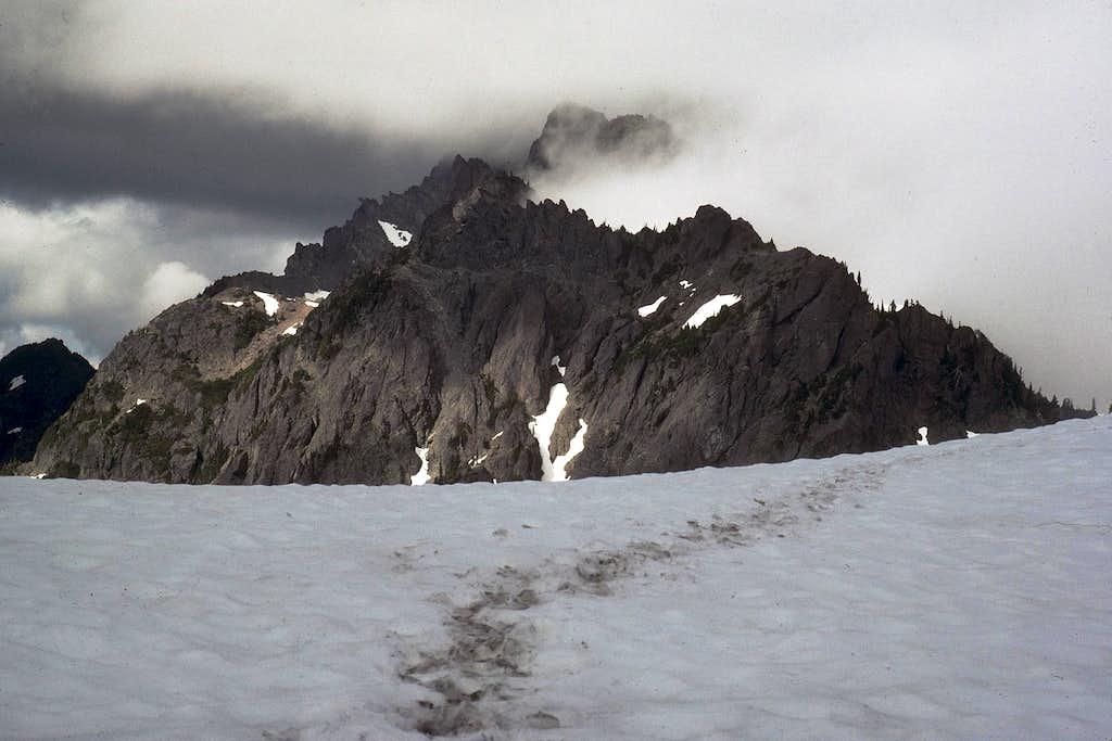 Mount Stone from Skokomish