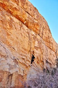 Thad on Big Moe, 11a