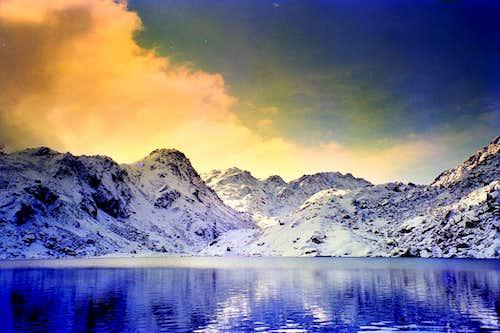 Holy Gosainkund lake