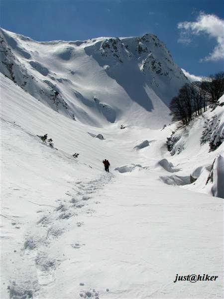 Entering Krajicica canyon