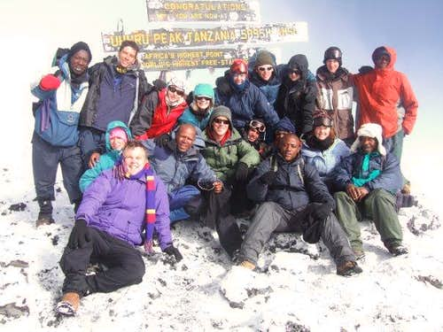 The 12 out of the 39 Aussies that made if to the Summit