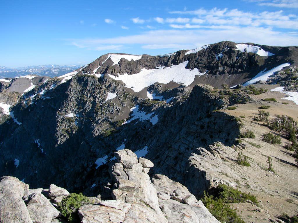 Cliffs on Deadwood Peak