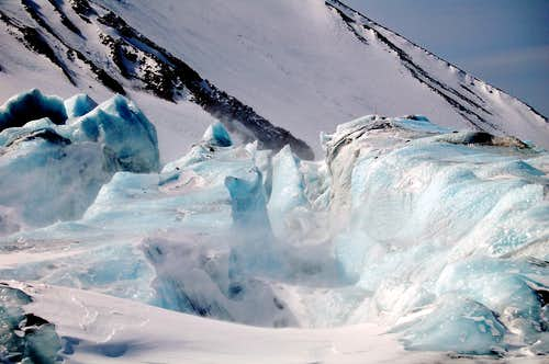 1st Icefall on the Whitney Glacier